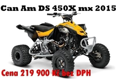 cam ds450x mx 2015 TRP